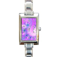 Delicate Rectangle Italian Charm Watch