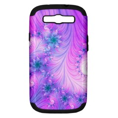 Delicate Samsung Galaxy S Iii Hardshell Case (pc+silicone)
