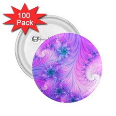 Delicate 2 25  Buttons (100 Pack)
