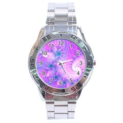 Delicate Stainless Steel Analogue Watch