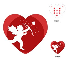 Cupid Bow Love Valentine Angel Playing Cards (heart)