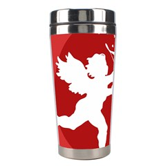 Cupid Bow Love Valentine Angel Stainless Steel Travel Tumblers
