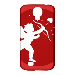 Cupid Bow Love Valentine Angel Samsung Galaxy S4 Classic Hardshell Case (pc+silicone)