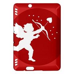 Cupid Bow Love Valentine Angel Kindle Fire Hdx Hardshell Case
