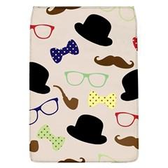 Moustache Hat Bowler Bowler Hat Flap Covers (l)