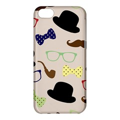 Moustache Hat Bowler Bowler Hat Apple Iphone 5c Hardshell Case