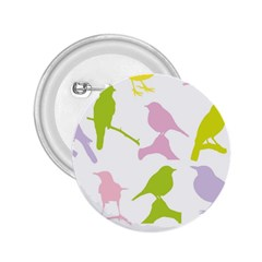 Birds Colourful Background 2 25  Buttons
