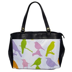 Birds Colourful Background Office Handbags