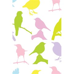 Birds Colourful Background 5 5  X 8 5  Notebooks