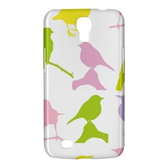 Birds Colourful Background Samsung Galaxy Mega 6 3  I9200 Hardshell Case