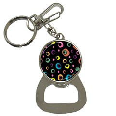 Abstract Background Retro 60s 70s Button Necklaces