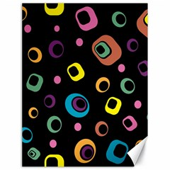 Abstract Background Retro 60s 70s Canvas 18  X 24