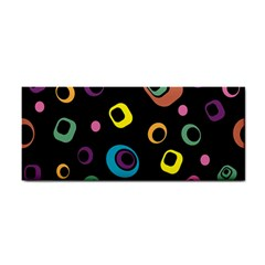 Abstract Background Retro 60s 70s Cosmetic Storage Cases