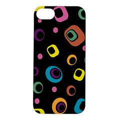 Abstract Background Retro 60s 70s Apple Iphone 5s/ Se Hardshell Case