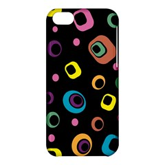 Abstract Background Retro 60s 70s Apple Iphone 5c Hardshell Case