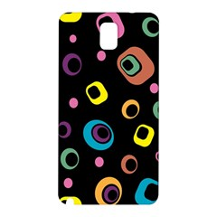 Abstract Background Retro 60s 70s Samsung Galaxy Note 3 N9005 Hardshell Back Case
