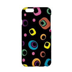 Abstract Background Retro 60s 70s Apple Iphone 6/6s Hardshell Case