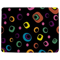 Abstract Background Retro 60s 70s Jigsaw Puzzle Photo Stand (rectangular)