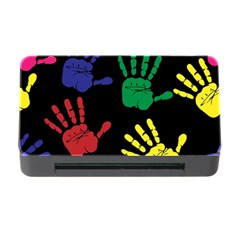 Handprints Hand Print Colourful Memory Card Reader With Cf