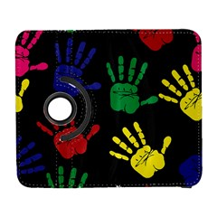 Handprints Hand Print Colourful Galaxy S3 (flip/folio)