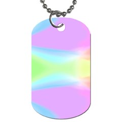 Abstract Background Wallpaper Paper Dog Tag (two Sides)