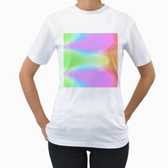 Abstract Background Wallpaper Paper Women s T Shirt (white)