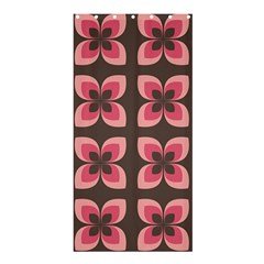 Floral Retro Abstract Flowers Shower Curtain 36  X 72  (stall)