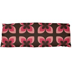 Floral Retro Abstract Flowers Body Pillow Case Dakimakura (two Sides)
