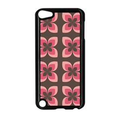 Floral Retro Abstract Flowers Apple Ipod Touch 5 Case (black)