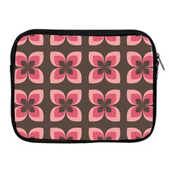 Floral Retro Abstract Flowers Apple Ipad 2/3/4 Zipper Cases