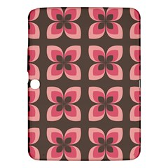 Floral Retro Abstract Flowers Samsung Galaxy Tab 3 (10 1 ) P5200 Hardshell Case