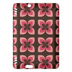 Floral Retro Abstract Flowers Kindle Fire Hdx Hardshell Case