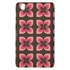 Floral Retro Abstract Flowers Samsung Galaxy Tab Pro 8 4 Hardshell Case