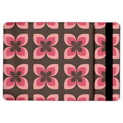 Floral Retro Abstract Flowers Ipad Air 2 Flip