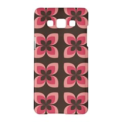 Floral Retro Abstract Flowers Samsung Galaxy A5 Hardshell Case