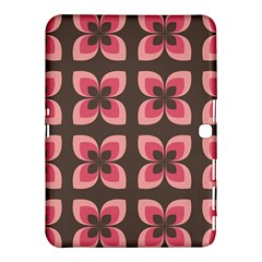 Floral Retro Abstract Flowers Samsung Galaxy Tab 4 (10 1 ) Hardshell Case