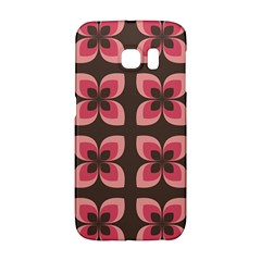 Floral Retro Abstract Flowers Galaxy S6 Edge