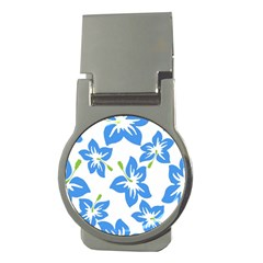 Hibiscus Wallpaper Flowers Floral Money Clips (round)