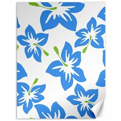 Hibiscus Wallpaper Flowers Floral Canvas 36  X 48