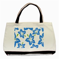 Hibiscus Wallpaper Flowers Floral Basic Tote Bag (two Sides)