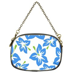 Hibiscus Wallpaper Flowers Floral Chain Purses (one Side)