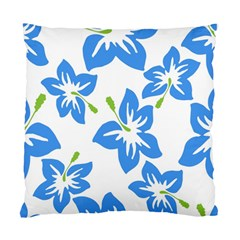 Hibiscus Wallpaper Flowers Floral Standard Cushion Case (two Sides)