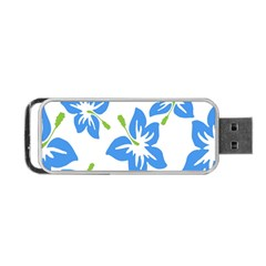 Hibiscus Wallpaper Flowers Floral Portable Usb Flash (one Side)