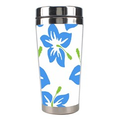Hibiscus Wallpaper Flowers Floral Stainless Steel Travel Tumblers