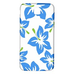 Hibiscus Wallpaper Flowers Floral Samsung Galaxy S5 Back Case (white)