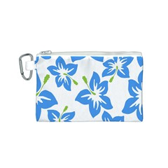 Hibiscus Wallpaper Flowers Floral Canvas Cosmetic Bag (s)