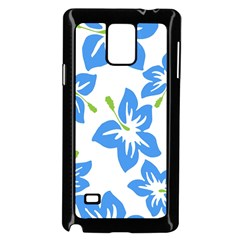 Hibiscus Wallpaper Flowers Floral Samsung Galaxy Note 4 Case (black)