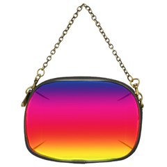Spectrum Background Rainbow Color Chain Purses (two Sides)