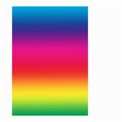 Spectrum Background Rainbow Color Small Garden Flag (two Sides)