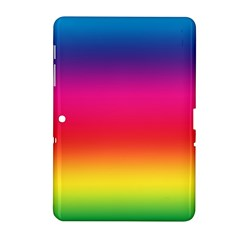 Spectrum Background Rainbow Color Samsung Galaxy Tab 2 (10 1 ) P5100 Hardshell Case